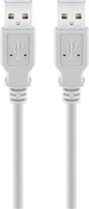Kabel USB 2.0 Hi-Speed 1,8 m, Szary