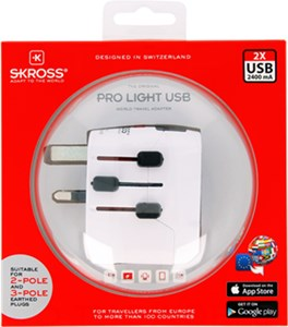 Adapter podróżny World PRO Light USB