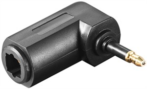 Cyfrowy adapter audio Toslink, Toslink na mini Toslink 90°