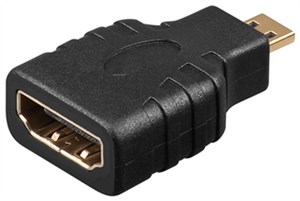 Adapter HDMI™, pozłacany