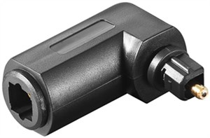 Cyfrowy adapter audio Toslink 90°