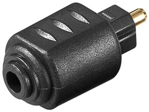 Cyfrowy adapter audio Toslink, mini Toslink na Toslink